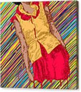 Fashion Abstraction De Fella Canvas Print