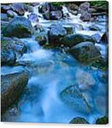 Fast-flowing River Canvas Print