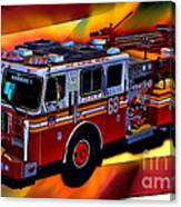 Fdny Engine 68 Canvas Print