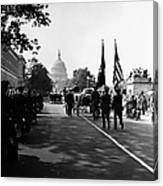 Fdr: Funeral, 1945 Canvas Print