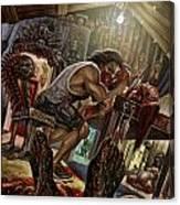 Feast On Fools Canvas Print