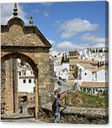 Felipe V Arch In Ronda Canvas Print