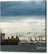 Felixstowe Docks Canvas Print
