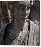 Female Statue Canvas Print