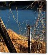 Fenceposts Canvas Print