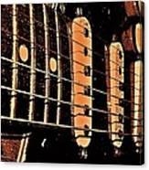 Fender In Brown Canvas Print