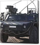 Fennek Armored Reconnaissancd Vehicles Canvas Print
