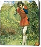 Ferdinand Lured By Ariel Canvas Print