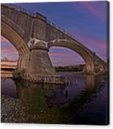 Fernbridge Dusk Canvas Print