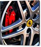 Ferrari Shoes Canvas Print