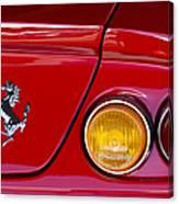 Ferrari Taillight Emblem 2 Canvas Print