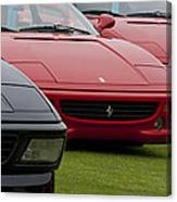 Ferraris 4 Canvas Print