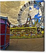 Ferris Wheel - Vienna Canvas Print