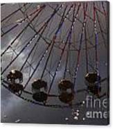 Ferris Wheel Reflection Canvas Print