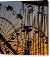 Ferris Wheels Canvas Print