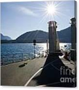 Ferry Harbour Canvas Print