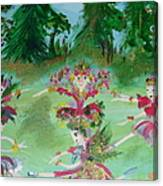 Festive Fairies Canvas Print
