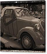 Fiat Dream Car Canvas Print