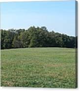Field At Mount Vernon Canvas Print