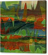 Fields Two Canvas Print