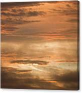 Fiery Atlantic Sunrise 2 Canvas Print