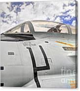 Fighter Jet Cockpit Canvas Print
