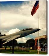 Fighter Jet Panama City Fl Canvas Print
