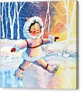 Figure Skater 11 Canvas Print