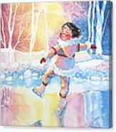 Figure Skater 13 Canvas Print