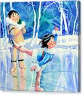 Figure Skater 15 Canvas Print