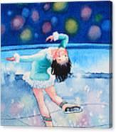 Figure Skater 16 Canvas Print