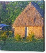 Fijian Bure Canvas Print