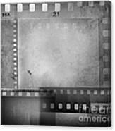 Film Negatives  Canvas Print