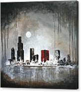 Film Noir Chicago Canvas Print