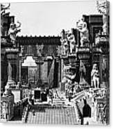 Film Set: Intolerance, 1916 Canvas Print