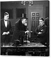 Film Still: Men Group Canvas Print