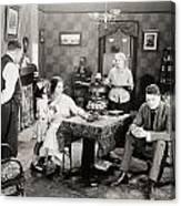 Film Still: Poorhouse Canvas Print