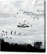 Final Flight Of The Enterprise Canvas Print