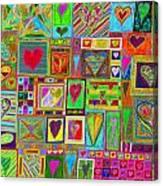 find U'r Love found    v15 Canvas Print