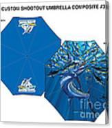 Fine Art Umbrellas Canvas Print