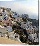 Fira In Santorini Canvas Print