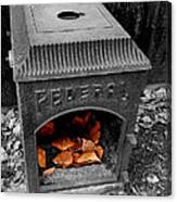 Fire Box Canvas Print