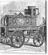 Fire Engine, 1862 Canvas Print