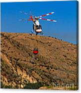 Fire Fighting Canvas Print