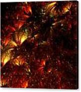 Fire-flowers Canvas Print