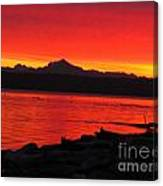 Fire Morning Canvas Print