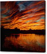 Fire Sky II  Canvas Print