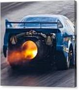 Fireforce Jet Funny Car Canvas Print