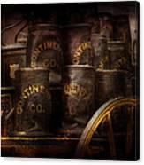 Fireman - Bucket Brigade  Canvas Print