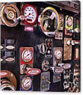 Fireman - Discharge Panel Canvas Print
